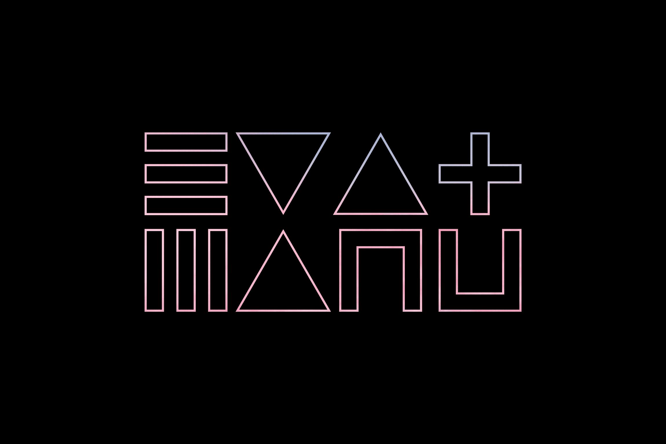 Eva & Manu, logo design: Tero Ahonen